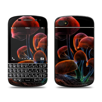 BlackBerry Q10 Skin - Fluorescence Rainbow