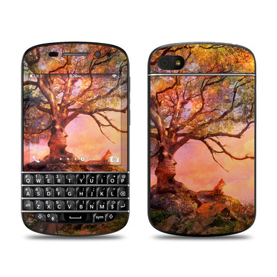 BlackBerry Q10 Skin - Fox Sunset