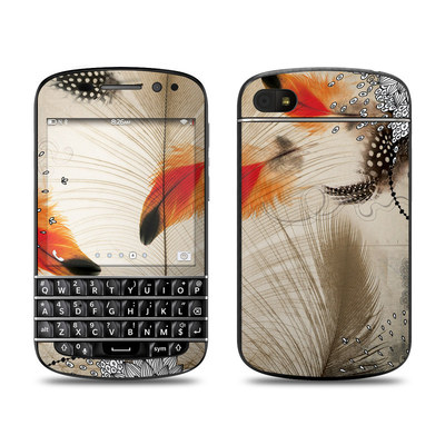 BlackBerry Q10 Skin - Feather Dance