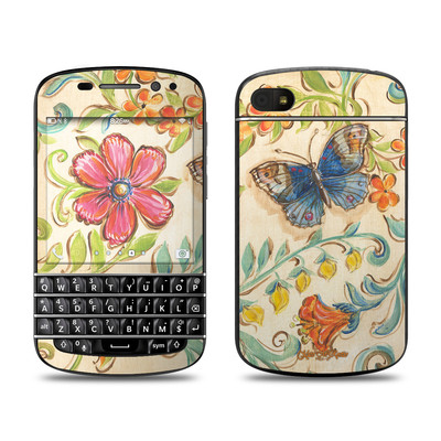 BlackBerry Q10 Skin - Garden Scroll