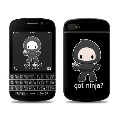 BlackBerry Q10 Skin - Got Ninja