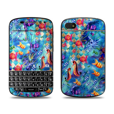 BlackBerry Q10 Skin - Harlequin Seascape
