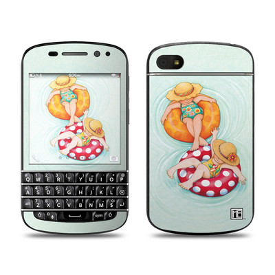 BlackBerry Q10 Skin - Inner Tube Girls