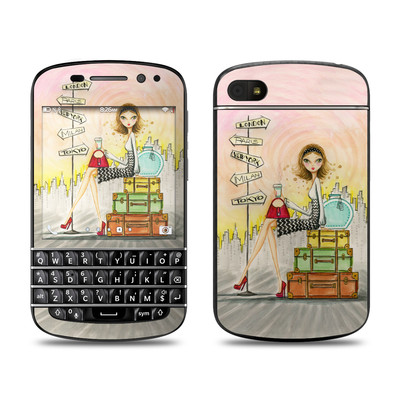 BlackBerry Q10 Skin - The Jet Setter