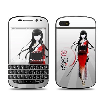 BlackBerry Q10 Skin - Kokeshi