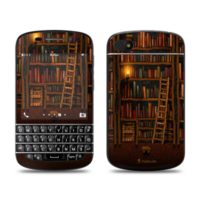 BlackBerry Q10 Skin - Library