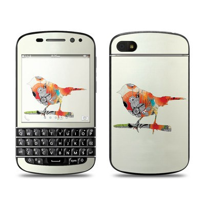 BlackBerry Q10 Skin - Little Bird