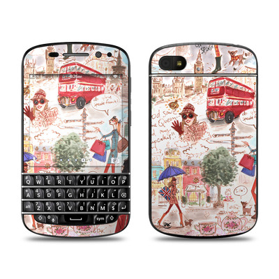 BlackBerry Q10 Skin - London