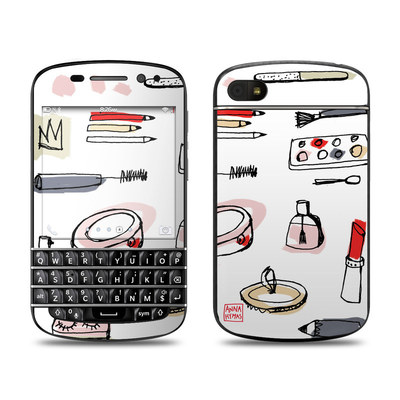 BlackBerry Q10 Skin - Makeup