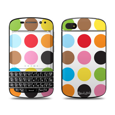 BlackBerry Q10 Skin - Multidot