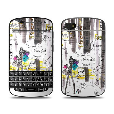 BlackBerry Q10 Skin - My New York Mood