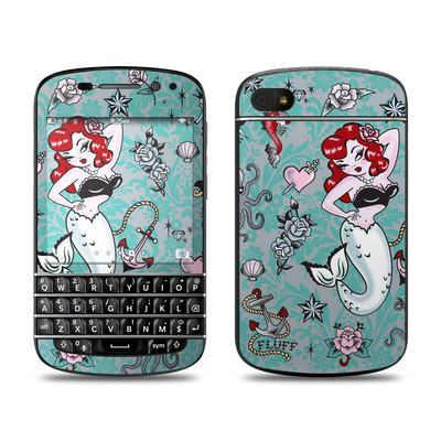 BlackBerry Q10 Skin - Molly Mermaid