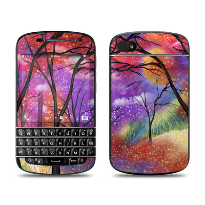 BlackBerry Q10 Skin - Moon Meadow