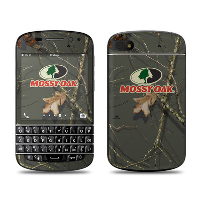BlackBerry Q10 Skin - Break-Up Lifestyles Evergreen