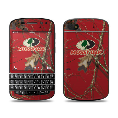 BlackBerry Q10 Skin - Break-Up Lifestyles Red Oak