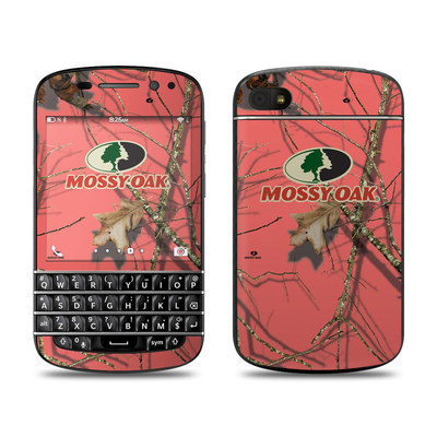 BlackBerry Q10 Skin - Break-Up Lifestyles Salmon