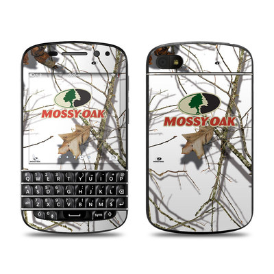 BlackBerry Q10 Skin - Break-Up Lifestyles Snow Drift