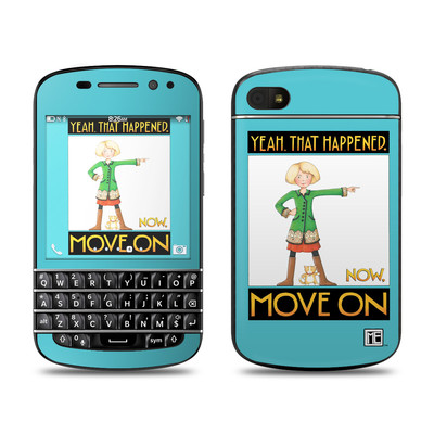 BlackBerry Q10 Skin - Move On