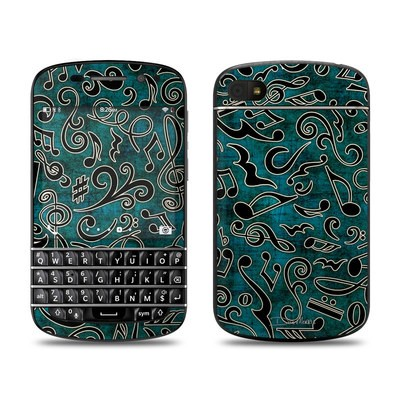 BlackBerry Q10 Skin - Music Notes