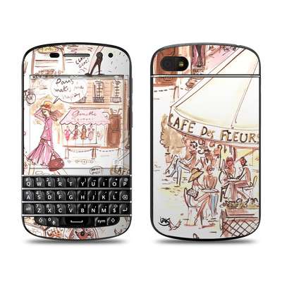 BlackBerry Q10 Skin - Paris Makes Me Happy