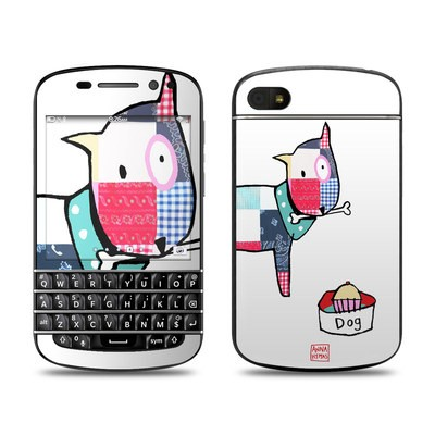 BlackBerry Q10 Skin - Patch Dog