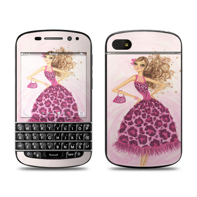 BlackBerry Q10 Skin - Perfectly Pink