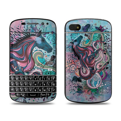 BlackBerry Q10 Skin - Poetry in Motion