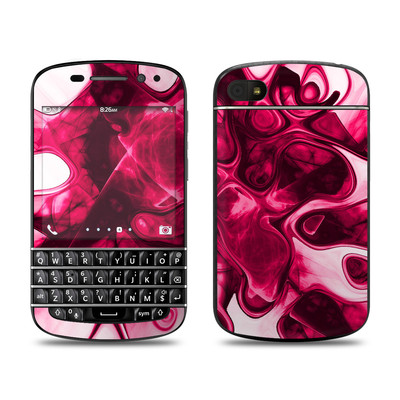 BlackBerry Q10 Skin - Pink Splatter
