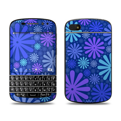 BlackBerry Q10 Skin - Indigo Punch