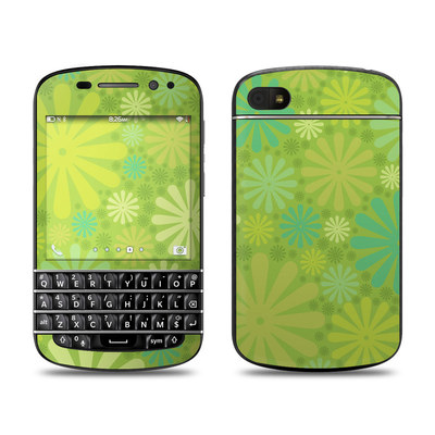 BlackBerry Q10 Skin - Lime Punch