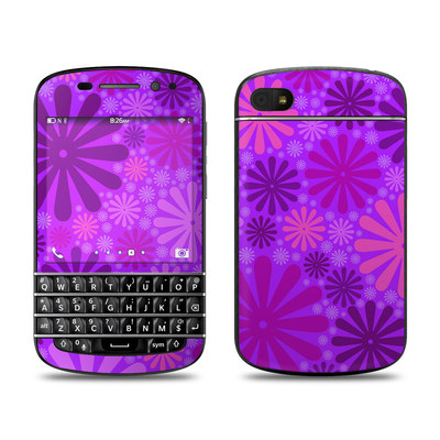 BlackBerry Q10 Skin - Purple Punch