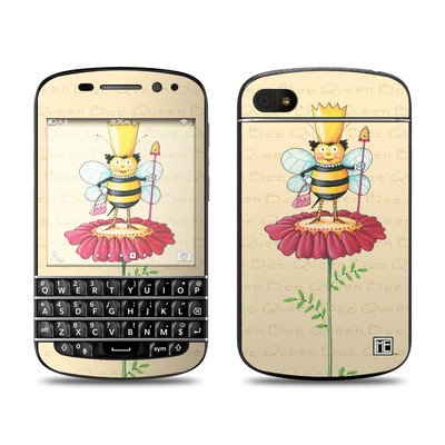 BlackBerry Q10 Skin - Queen Bee