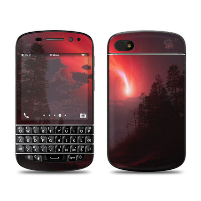 BlackBerry Q10 Skin - Red Harbinger