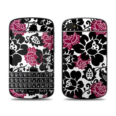 BlackBerry Q10 Skin - Rose Noir
