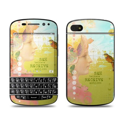 BlackBerry Q10 Skin - See Believe
