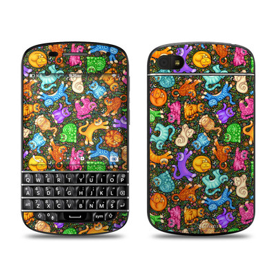 BlackBerry Q10 Skin - Sew Catty