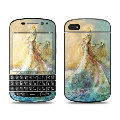 BlackBerry Q10 Skin - The Shell Maiden