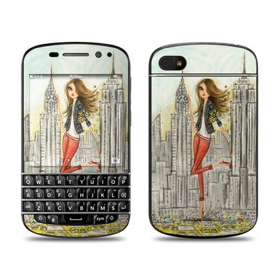 BlackBerry Q10 Skin - The Sights New York