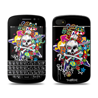 BlackBerry Q10 Skin - Skulldaze