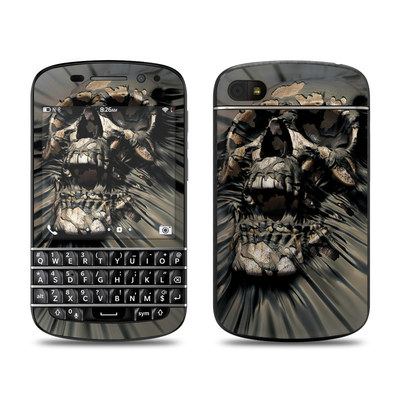 BlackBerry Q10 Skin - Skull Wrap