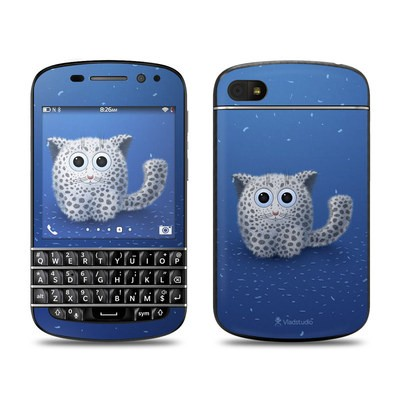BlackBerry Q10 Skin - Snow Leopard