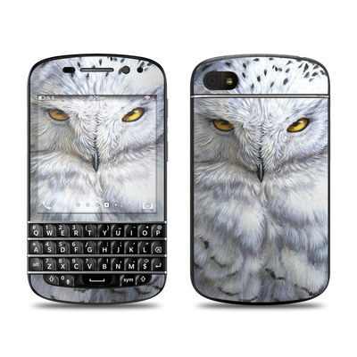 BlackBerry Q10 Skin - Snowy Owl