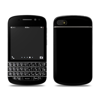 BlackBerry Q10 Skin - Solid State Black