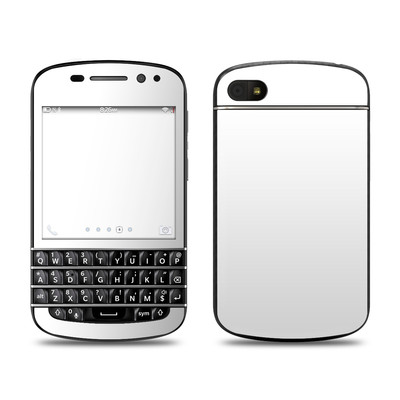 BlackBerry Q10 Skin - Solid State White