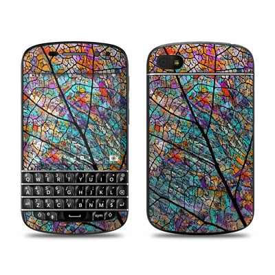 BlackBerry Q10 Skin - Stained Aspen
