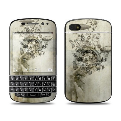 BlackBerry Q10 Skin - Steamtime