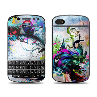 BlackBerry Q10 Skin - Streaming Eye