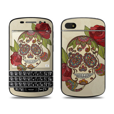 BlackBerry Q10 Skin - Sugar Skull