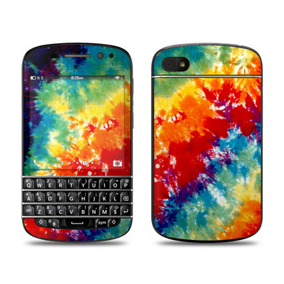 BlackBerry Q10 Skin - Tie Dyed