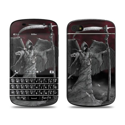 BlackBerry Q10 Skin - Time is Up